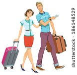 family travel | Shutterstock . vector #186148529