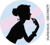 makeup   Shutterstock . vector #186148679