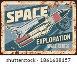 space exploration center vector ...   Shutterstock .eps vector #1861638157
