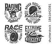 car racing club  motorsport... | Shutterstock .eps vector #1861642081