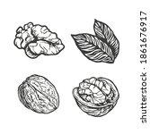 sketch vector illustration of... | Shutterstock .eps vector #1861676917