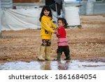 Small photo of Syria's children at Zaatari refugee camp in Jordan on 2018-12-15