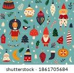 Christmas Decorative Seamless...