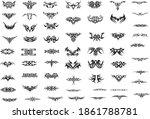 tattoo vector clip art.... | Shutterstock .eps vector #1861788781