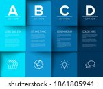 multipurpose mosaic four letter ...   Shutterstock .eps vector #1861805941