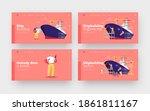 shipbuilding landing page... | Shutterstock .eps vector #1861811167