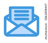 email icon vector illustration...