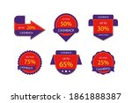 cashback labels with special... | Shutterstock .eps vector #1861888387
