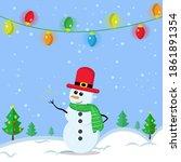illustration vector graphic of... | Shutterstock .eps vector #1861891354