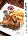 Roast Rotisserie Half Chicken...