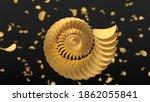 spirally sorted crunchy potato... | Shutterstock . vector #1862055841
