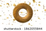 circularly sorted crunchy... | Shutterstock . vector #1862055844