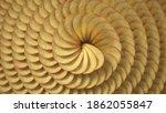 spirally sorted crunchy potato... | Shutterstock . vector #1862055847
