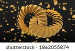 circularly sorted crunchy... | Shutterstock . vector #1862055874