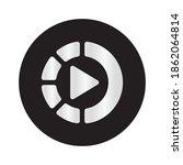 slow motion icon vector design. ...   Shutterstock .eps vector #1862064814