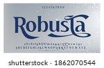 elegant awesome alphabet... | Shutterstock .eps vector #1862070544