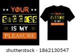 stylish typography t shirt... | Shutterstock .eps vector #1862130547