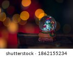 New Year\'s Bokeh. Christmas...