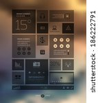 infographic business template...