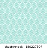 abstract white lace seamless... | Shutterstock .eps vector #186227909