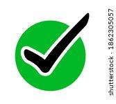 vector illustration of green...   Shutterstock .eps vector #1862305057