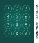 Phone Keypad In Touchscreen...