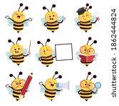 vector illustration set of... | Shutterstock .eps vector #1862444824