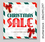 christmas vintage vector big... | Shutterstock .eps vector #1862491297