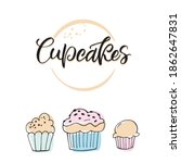 labels for cupcakes. vector... | Shutterstock .eps vector #1862647831