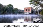 The Beautiful Cascade Dam Is A...