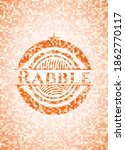 rabble orange tile background... | Shutterstock .eps vector #1862770117