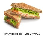 Fresh Sandwich Close Up With...