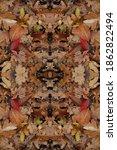 Abstract Autumn Pattern Are...