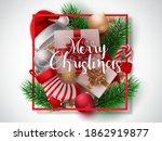 christmas vector background... | Shutterstock .eps vector #1862919877
