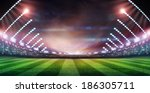 light of stadium | Shutterstock . vector #186305711