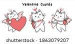 Happy Kitten Cat Valentine...