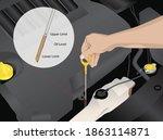 vector illustration of engine... | Shutterstock .eps vector #1863114871