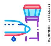 air plane navigation center... | Shutterstock .eps vector #1863131311