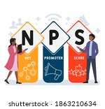 flat design with people. nps  ...   Shutterstock .eps vector #1863210634