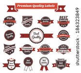 premium exclusive quality and... | Shutterstock . vector #186323849