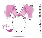 Easter Bunny Ears Design  Eps...