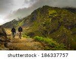 java  indonesia   may 5  kawah... | Shutterstock . vector #186337757