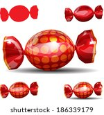 candy   Shutterstock .eps vector #186339179