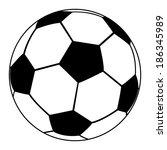 Soccer Ball On A White...