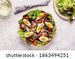 French Salad Nicoise With Tuna  ...