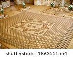 Ein Gedi A Synagogue Mosaic...