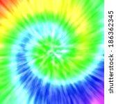 realistic spiral tie dye... | Shutterstock . vector #186362345