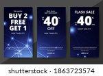 flash sale discount banner... | Shutterstock .eps vector #1863723574