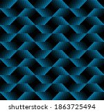 seamless halftone dot abstract... | Shutterstock .eps vector #1863725494