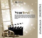 vector info graphic background  ...   Shutterstock .eps vector #186383561